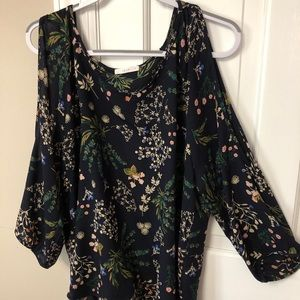 Slit sleeve blouse from Le Lis in 1X